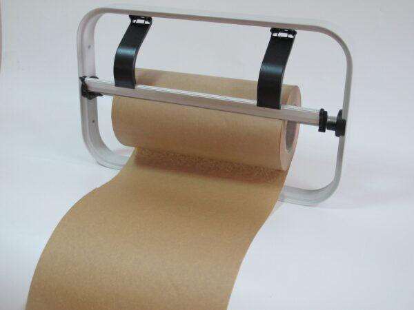 papier z polietylenem brązowy rolka