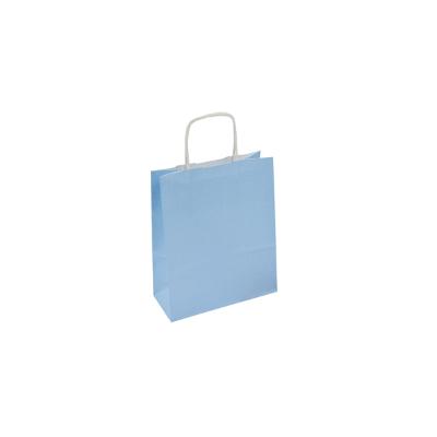 błękitna torba pastelowa z uchem