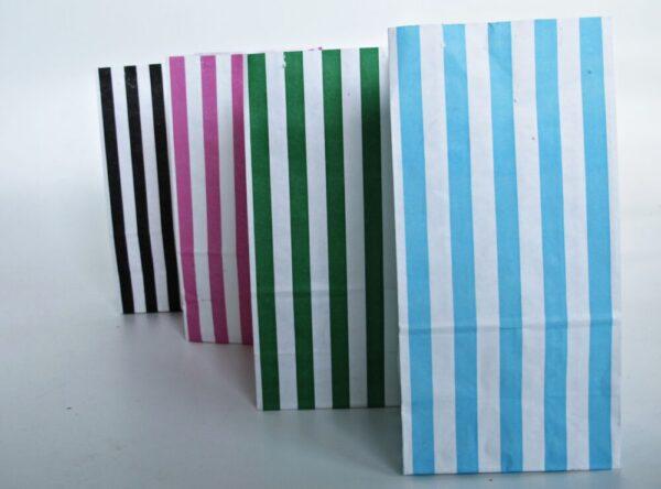 torebki papierowe w paski