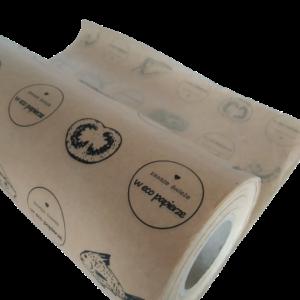 papier kraftowy kaszerowany nadruk